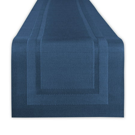Design Imports PVC Doubleframe Table Runner, 72