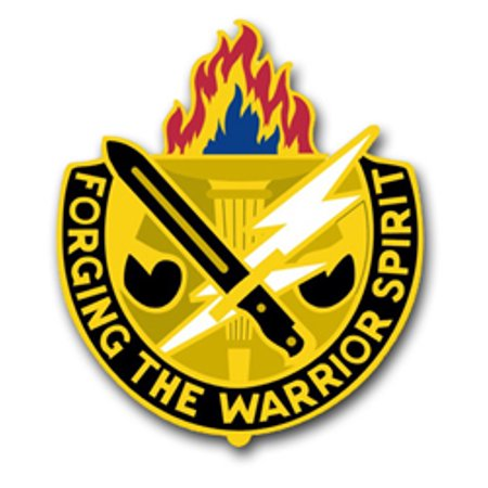 3.8 Inch Joint Readiness Center Unit Crest Vinyl Transfer Decal