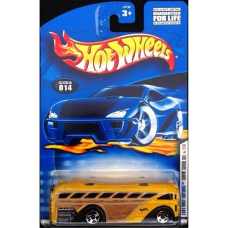 - 2001 First Editions #2 Surfin' School Bus #2001-14 Collectible Collector Car Mattel Hot Wheels