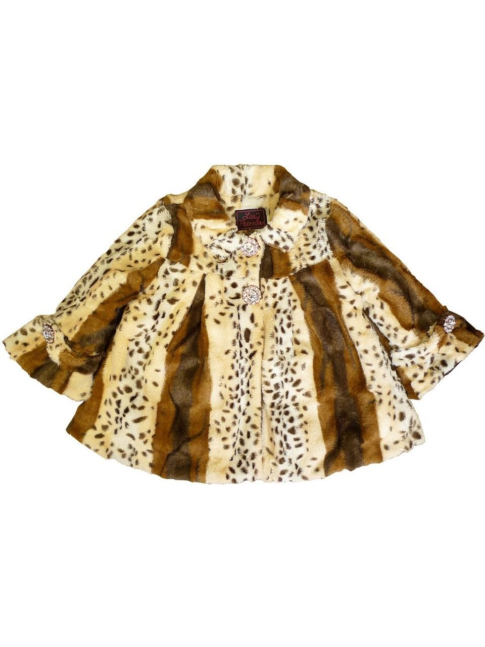Little Girls Tiger Lilly Faux Fur Coat 5-6