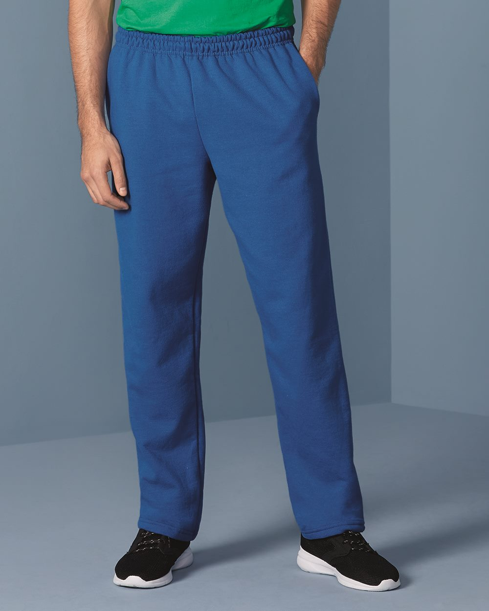 Gildan Heavy Blend Open Bottom Sweatpants with Pockets