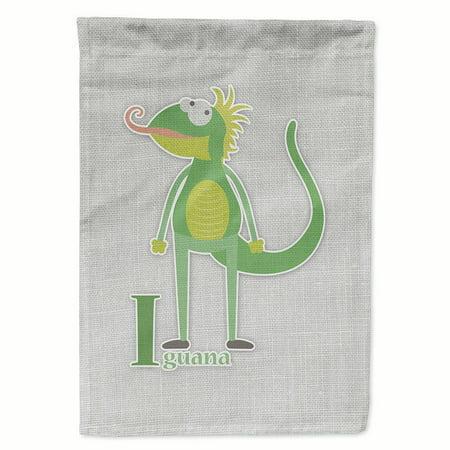 Iguana Garden (Alphabet I for Iguana Garden Flag )