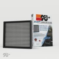 K&N Cabin Air Filter: Washable and Reusable: Designed For Select 2000-2019 Toyota/Subaru/Land Rover/Jaguar/Lexus/Scion Vehicle Models, VF2000