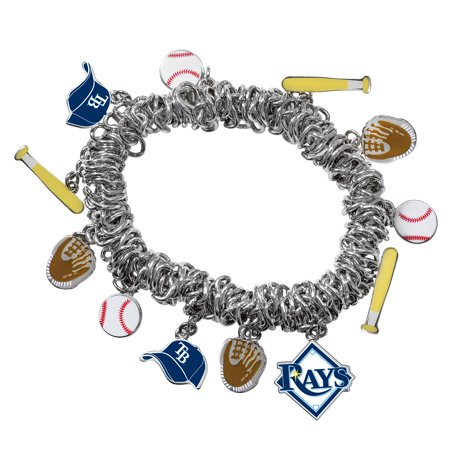 - Game Time Offical MLB TAMPA BAY RAYS Stretch Bracelet