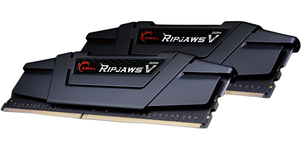 G.SKILL 16GB (2x 8GB) Ripjaws V Series DDR4 PC4-25600 3200MHz Intel Z170 Platform Desktop Memory Model F4-3200C16D-16GVK