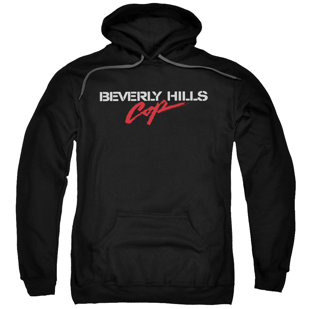 BHC/LOGO-ADULT PULL-OVER HOODIE-BLACK-2X