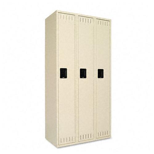 "Tennsco Single-tier Locker - - Bolt[s]72"" X 36"" X 18"" - S..."