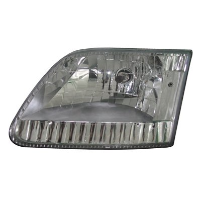 1982 Ford Pickup Extended Cab - Go-Parts » 1997 - 2003 Ford F-150 Headlight - (Brand: LKQ Platinum Plus) - (Base 4.2L, 4.6L, 5.4L Standard Cab Pickup + Base 4.2L, 4.6L, 5.4L Extended Cab Pic Performance FO2505101 Replacement For)
