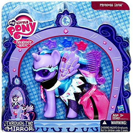 My Little Pony Friendship Magic Exclusive Through the Mirror Princess Luna, My little pony exclusive By Hasbro Ship from US - My Little Pony Hasbro