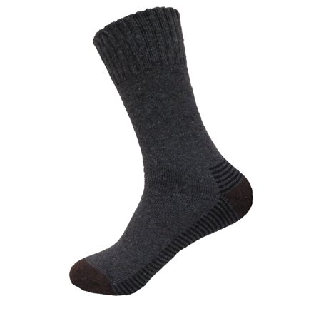 Mens Super Warm Heavy Thermal Merino Wool Winter Socks 10-13 (Pale (Best Men Thermal Socks)