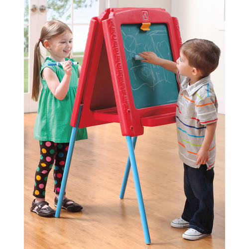 Step2 Sketch & Store Easel, Red