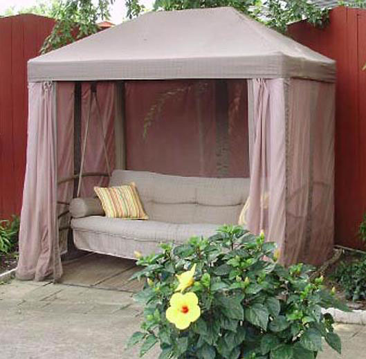 Garden Winds Replacement Canopy Top for Sam's Club Gazebo Style Swing