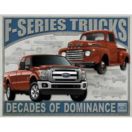 Ford - F-Series Trucks Tin Sign - 16x16