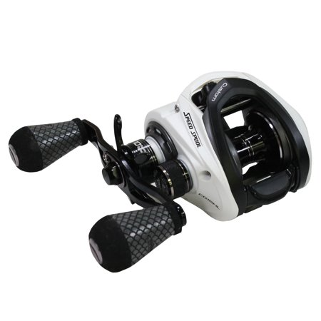 (Lews Fishing Custom Speed Spool MSB Casting Reel 7.5:1 Gear Ratio, 10 Bearings, 14 lb Max Drag, Left Hand)
