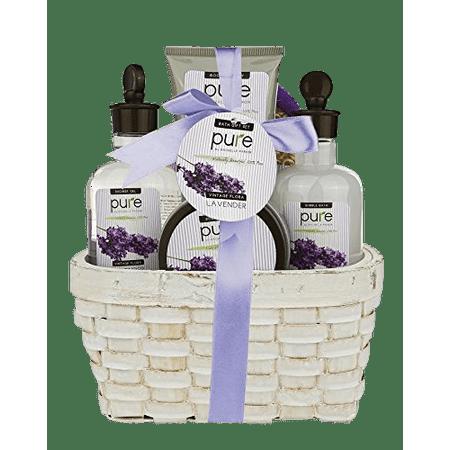 Gift Baskets Canada Spa - Lavender Spa Gift Basket