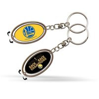 Golden State Warriors Official NBA 2018 National Champions Key Ring Spinner Keychain by 387356
