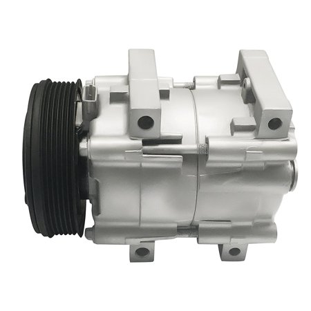RYC Remanufactured AC Compressor and A/C Clutch EG141 Fits 1993-1995 Ford Taurus 3.8L; 1994-2004 Ford Mustang 3.8L