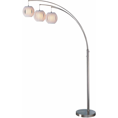 Deion 3-Light Arch Floor Lamp