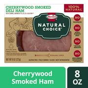 Hormel Natural Choice Cherrywood Smoked Deli Ham, 8 Oz.