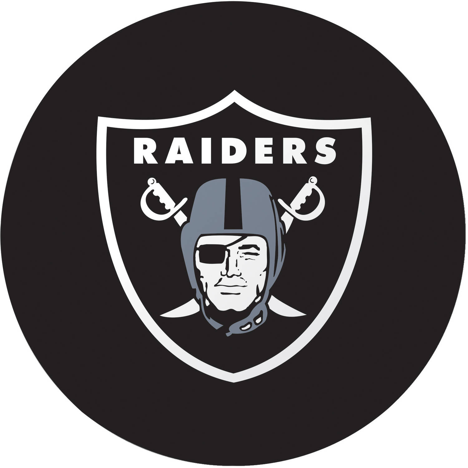 Oakland Raiders Plates, 8-Pack