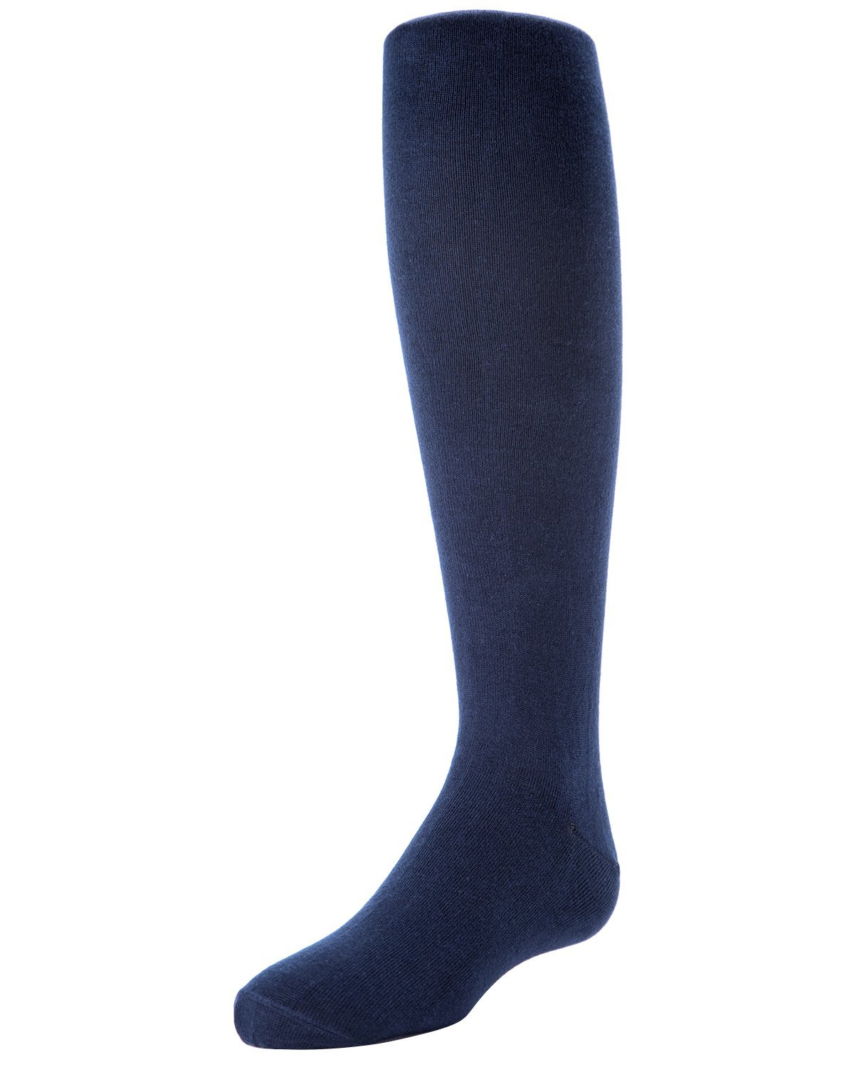 MeMoi Cotton Tights for Girls | Cotton Sweater Tights by MeMoi 4 / Navy MK 311