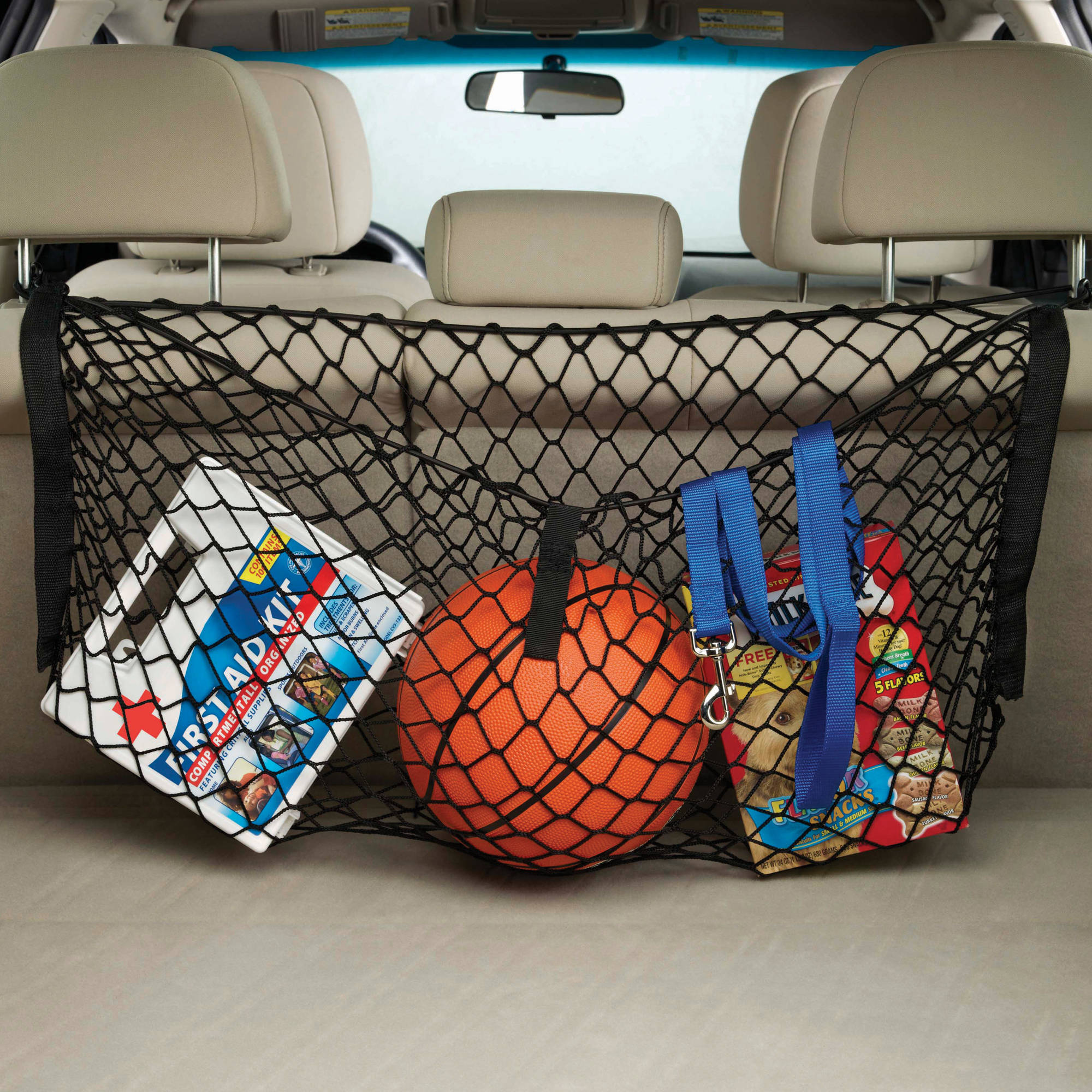 High Road Clip-on Cargo Organizer Storage Net