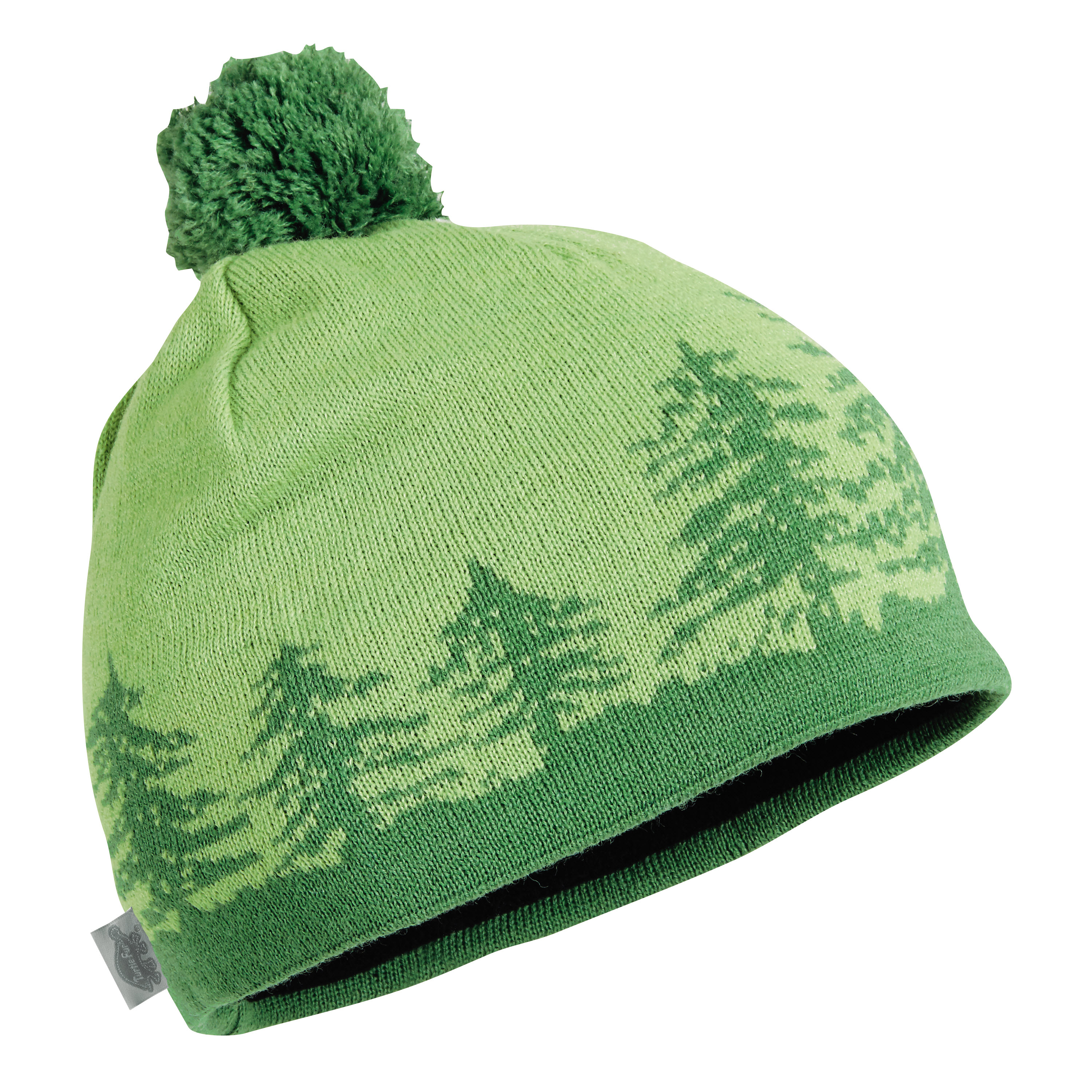 Turtle Fur Treely Merino Wool Knit Pom Hat