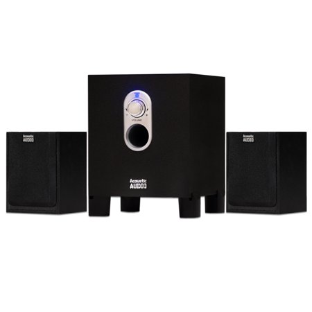 Acoustic Audio AA2101 Home 2.1 Speaker System for Multimedia Computer Gaming