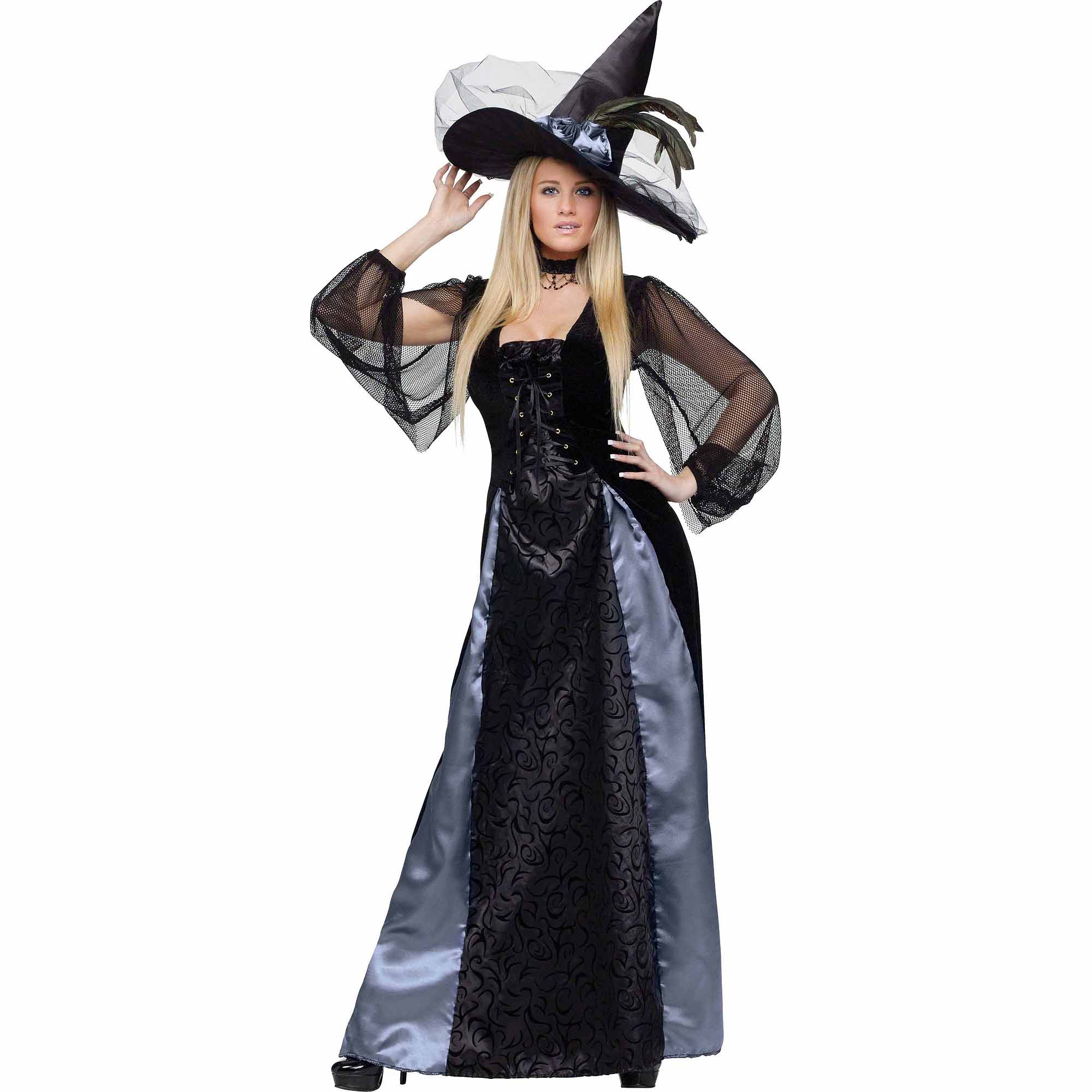 Fun World Gothic Maiden Witch Adult Halloween Costume
