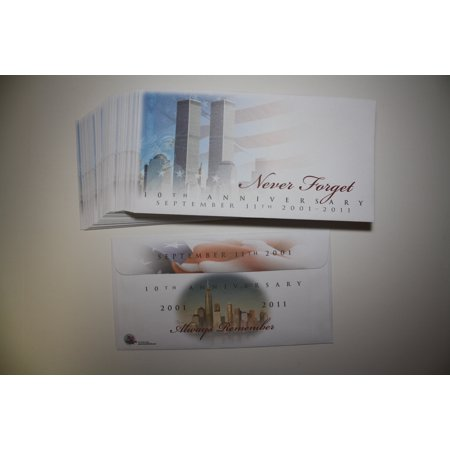 Lot Of 40 Cachet Envelopes 9 11 World Trade Center 10Th Anniversary Never Forget