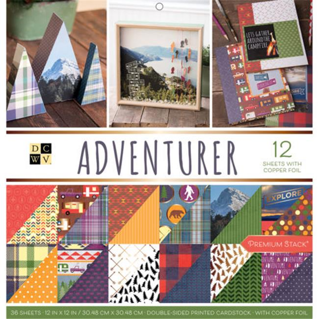 Paper Stack Double-Sided - Adventurer