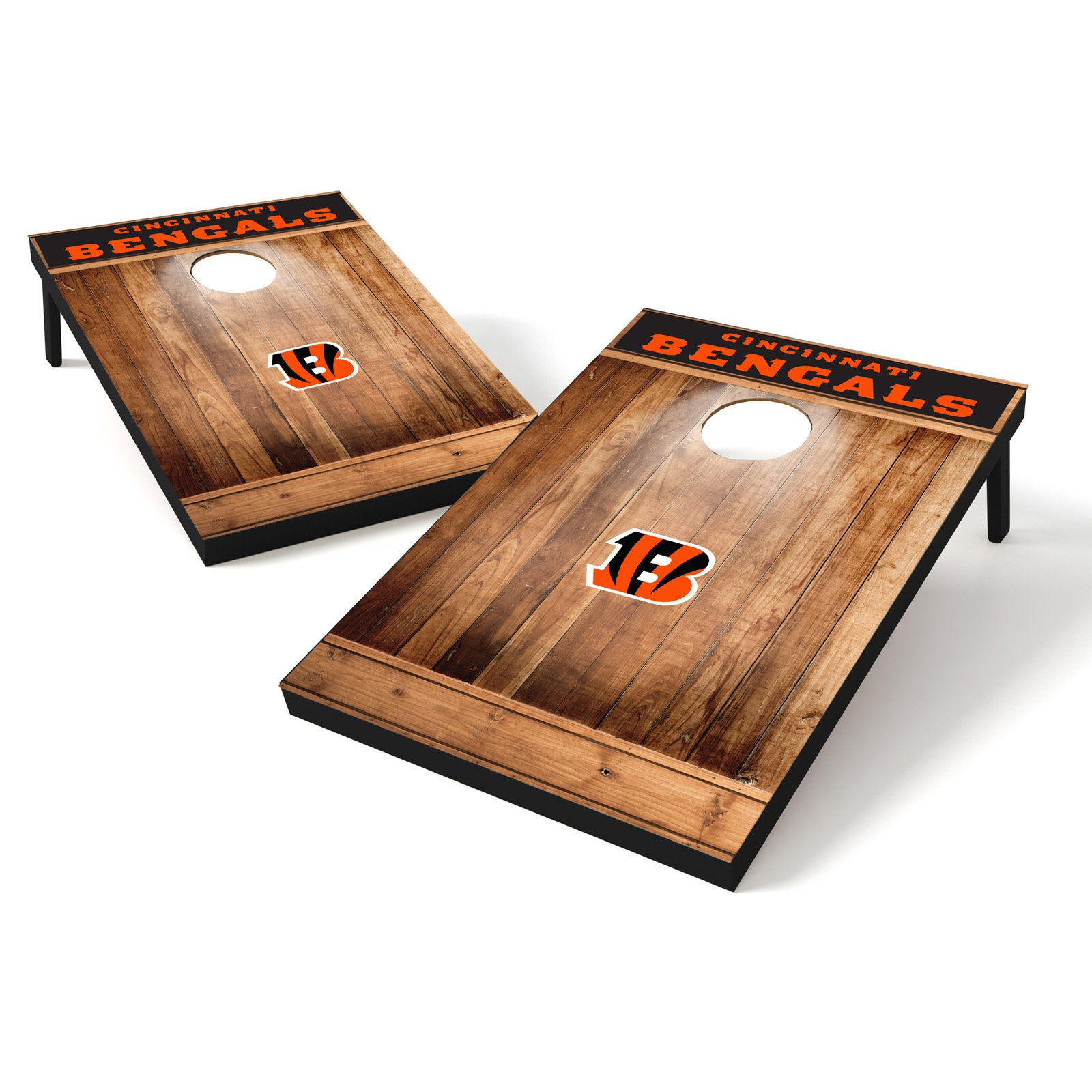 Tailgate Toss Wood Brown NFL Cincinnati Bengals