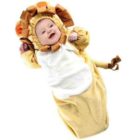Lion Bunting Infant Halloween Costume, 0-6 Months - Infant Halloween Costumes Bunting