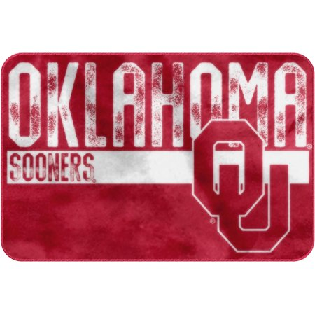 "NCAA Oklahoma Sooners 20"" x 30"" ""Worn Out"" Mat, 1 Each"
