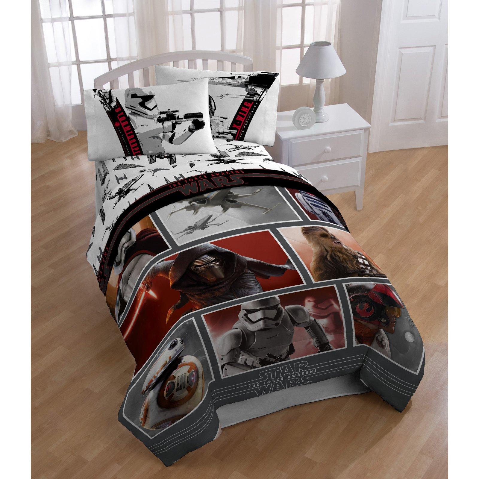 Star Wars Episode VII Live Action Reversible Comforter by Star Wars