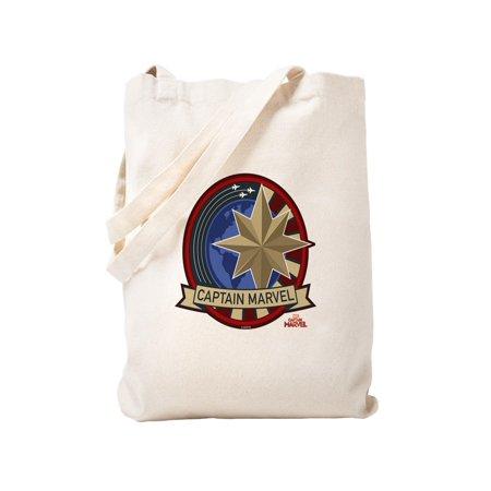 b8636185f25 CafePress - Captain Marvel - Natural Canvas Tote Bag, Cloth Shopping Bag