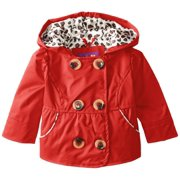 Pink Platinum Baby Girls' Newborn Spring Jacket Double Breasted Trench Coat