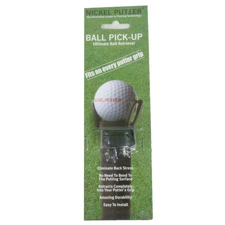 Nickel Putter Ball Pick-Up Ball Retriever Golf