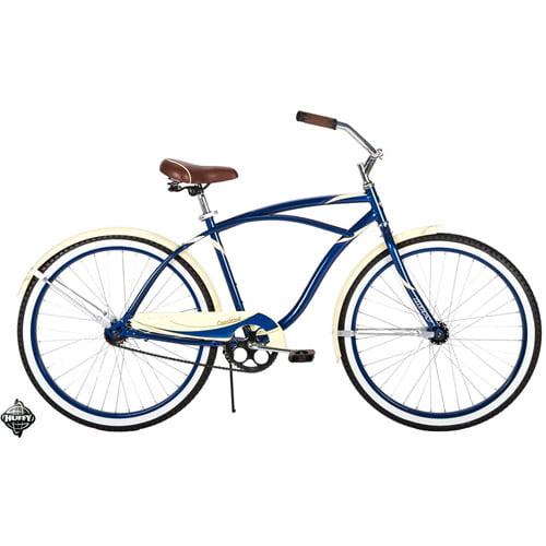 26'' Huffy Men's Cranbrook Cruiser/Comfort Bike, Dark Blue