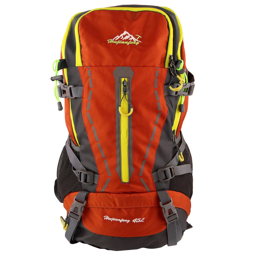 HWJIANFENG Authorized Trekking Climbing Pack Backpack Sports Bag Orange