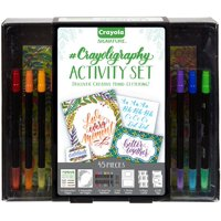 Crayola Signature Crayoligraphy Hand Lettering Art Set Ages 14+