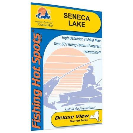 Seneca Lake Fishing Map