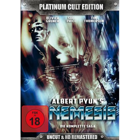 Nemesis (Complete Saga 1-4) - 11-DVD Box Set ( Nemesis / Nemesis 2: Nebula / Nemesis 3: Time Lapse / Nemesis 4: Death Angel ) ( Nemesis / Nemesis Two / [ NON-USA FORMAT, PAL, Reg.0 Import - Germany ] - Halloween 4 Deaths