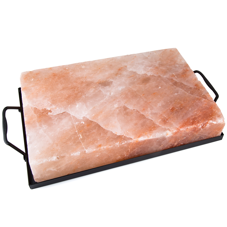 """Zenware 12"""" x 8"""" x 2"""" Natural Himalayan Block Cooking Sal..."""