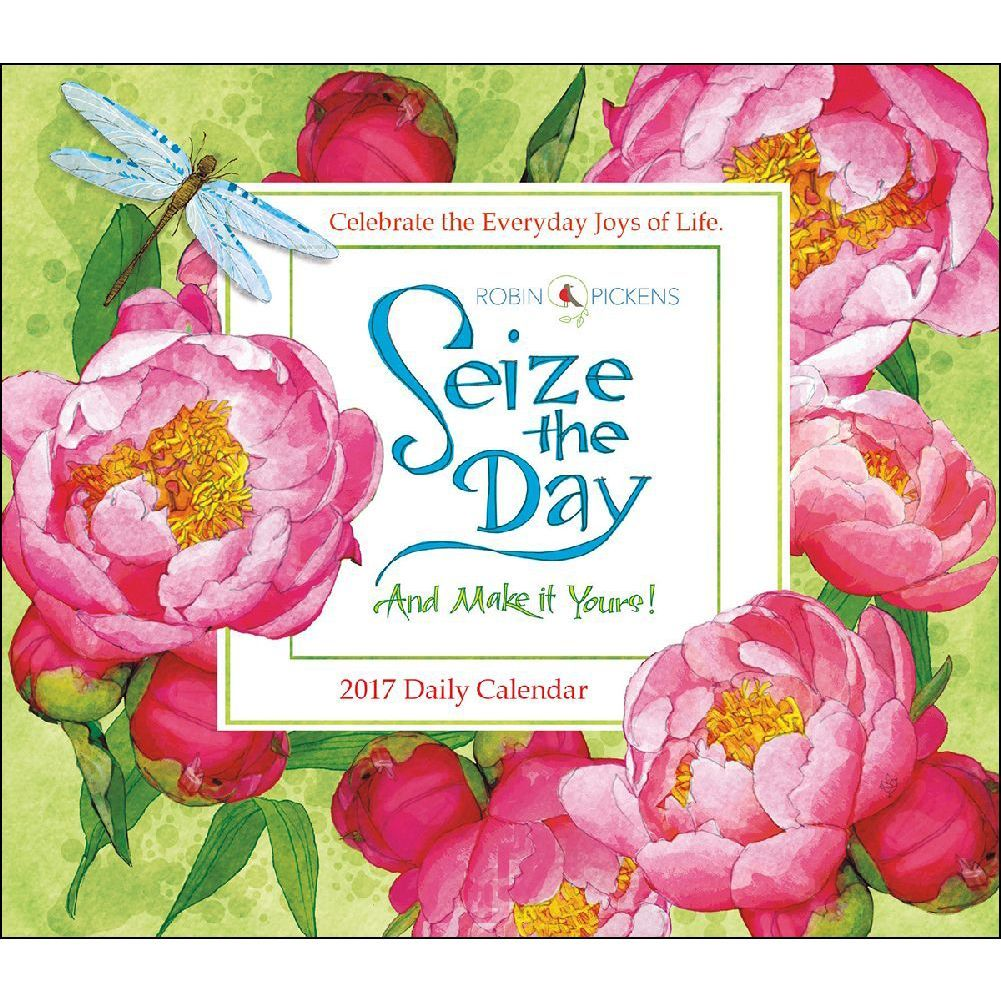 Seize the Day Desk Calendar