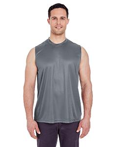UltraClub Adult Cool & Dry Sport Performance Interlock Sleeveless T-Shirt