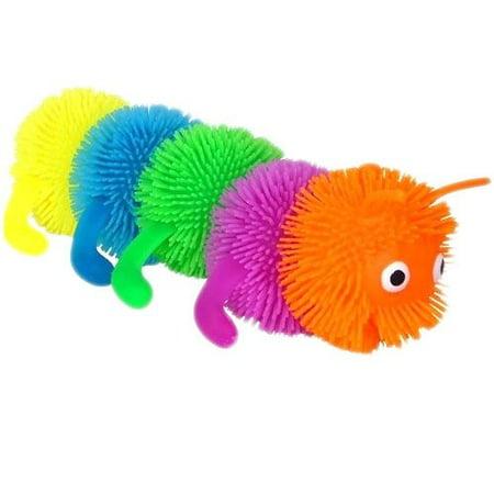 7   Caterpillar Puffer Ball
