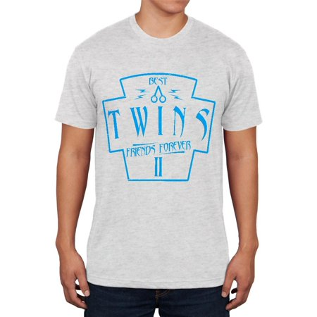 Twins Best Friends Forever Distressed Second Mens Soft T