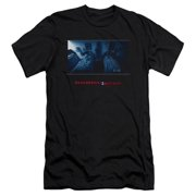 Paranormal Activity Men's  Poster Slim Fit T-shirt Black