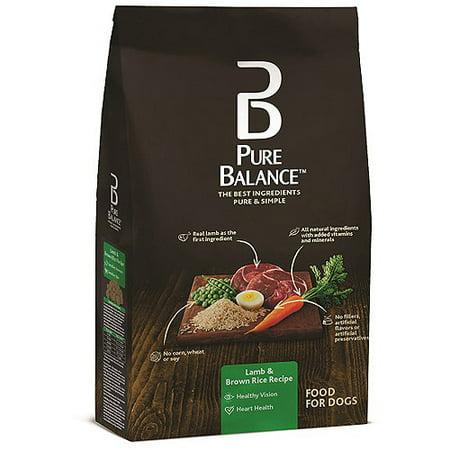 Lamb Brown Rice Dog Food
